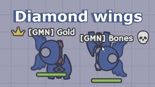 Moomoo.io - Diamond Wings Texture Pack | ft. Bones
