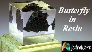 DIY. Butterfly in Resin/Motyl w Żywicy