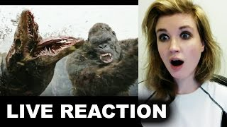Kong Skull Island Final Trailer REACTION