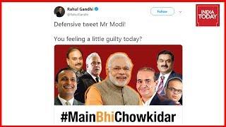 Rahul Gandhi Mocks PM Modi's 'Main Bhi Chowkidar' Poll Campaign