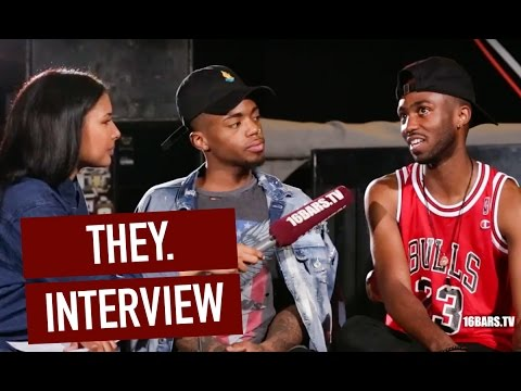 THEY. im Interview über Drake, The Weeknd und 2Pacs altes Studio | 16BARS.TV
