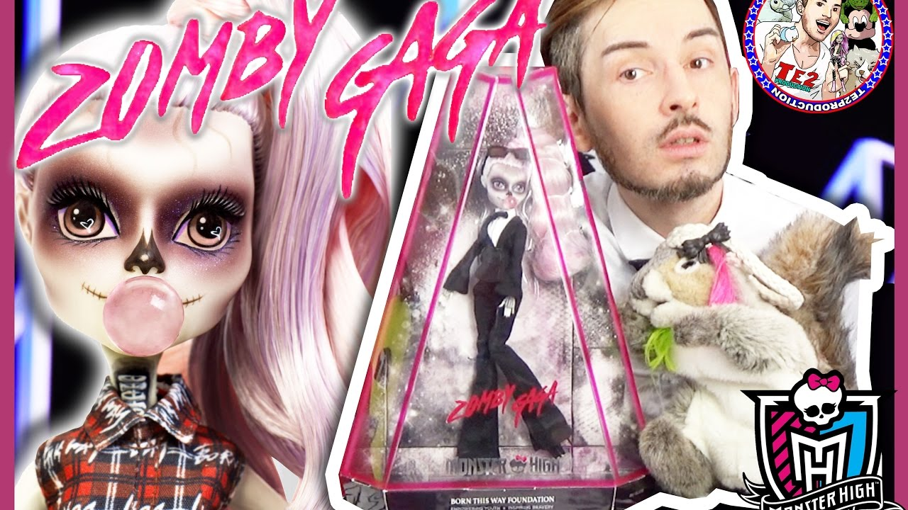 review monster high zomby gaga lady gaga youtube