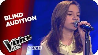 Lorde Royals Sarah The Voice Kids 2014 Blind Audition Sat 1