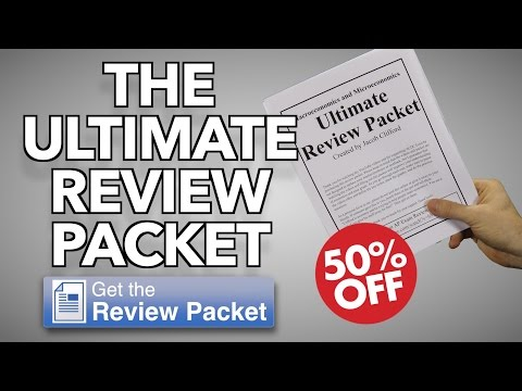 The Ultimate Review Packet- Economics