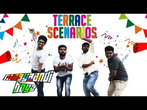 Types of Terrace Users | Terrace scenarios & Atrocities |A Funny depiction ft Maayaandi Boyz
