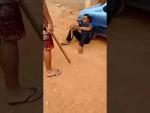 Pedófilo conhecido como irmão Samuel é pego no fraga tentando abusar de menino em