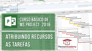 Gambar cover Aula 1-11 Curso de MS Project 2016 - Atribuindo recursos as tarefas
