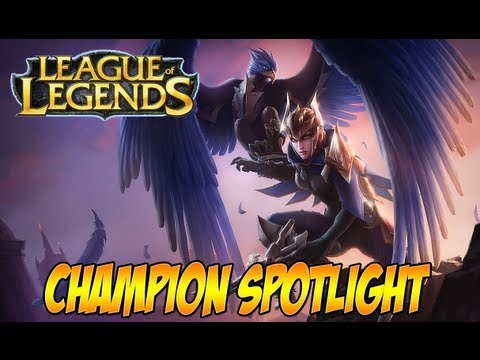 League Of Legends - Gameplay - Quinn And Valor Guide (Quinn And Valor Champion Spotlight)