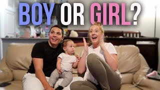 SURPRISE GENDER REVEAL! IT'S A...