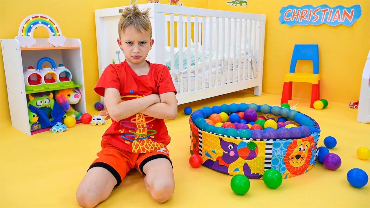 Bebek Chris için yeni oda