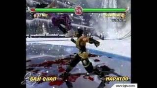 Mortal Kombat: Deadly Alliance GameCube Gameplay - Li Mei