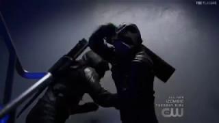 Команда Стрелы против Прометея и Стардаста в сериале