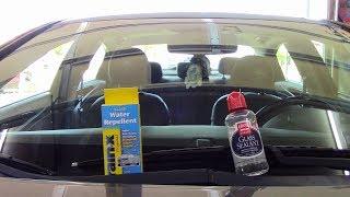 RainX vs Griot's Garage Glass Sealant!