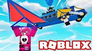 I MUST ESCAPE FROM FORTNITE! Roblox!