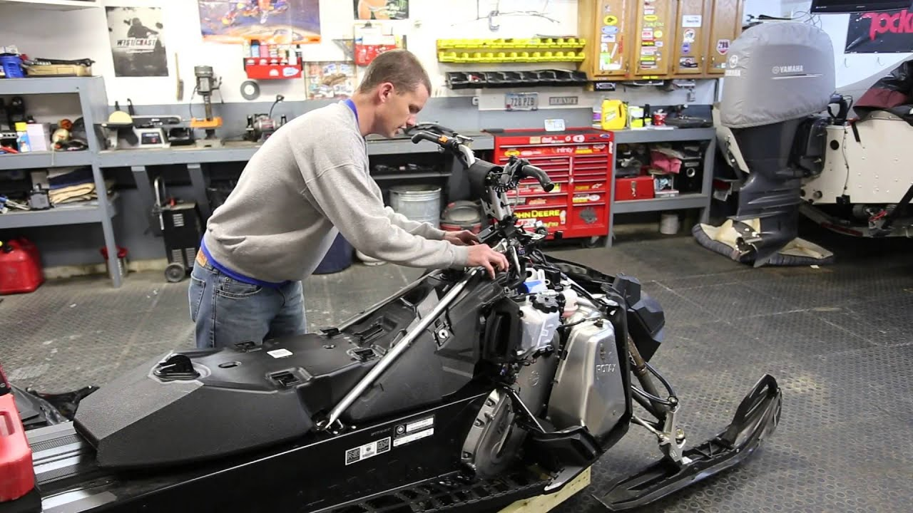 Sator Assembly 2014 Ski-Doo Renegade Backcountry E-TEC 800R Snowmobile