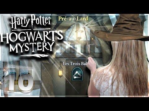 PRÉ -AU-LARD : INFOS SUR NOTRE FRÈRE ? ! #10  [Harry potter Hogwarts Mystery MOBILE] FR
