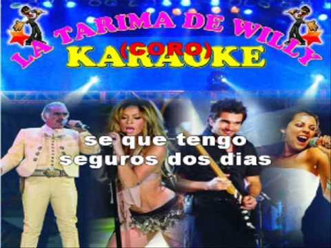 DOS DIAS - EL ANDARIEGO- KARAOKE