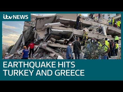 At least 14 dead after 7.0 magnitude earthquake in Aegean Sea strikes Turkey and Greece | ITV News