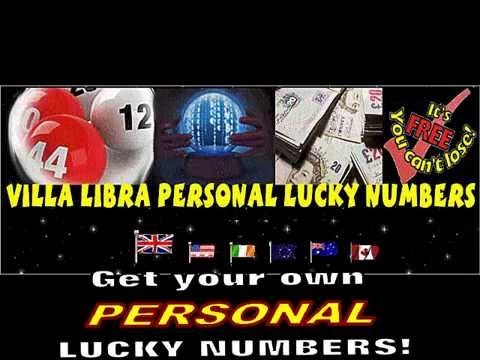 How to WIN THE LOTTERY with your own PERSONAL LUCKY NUMBERS