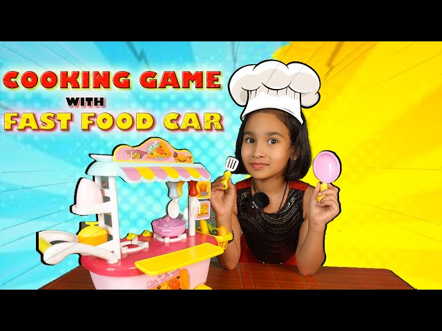 Cooking game in Hindi Part-33 / Cooking in fast food car / ShopKeeper Game /| #LearnWithPari