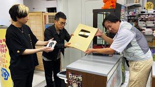 秋葉原の店長のところで金の盾とブラマジを預かってもらうことにしました【宮迫×ヒカル】