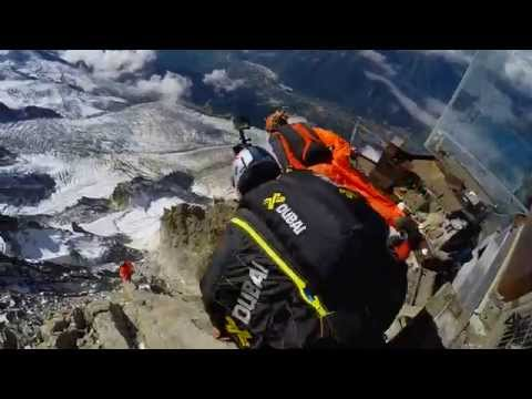 Unimaginable Wingsuit BASE Jump 12,605FT!  The Definition Of Wingsuit BASE Jumping