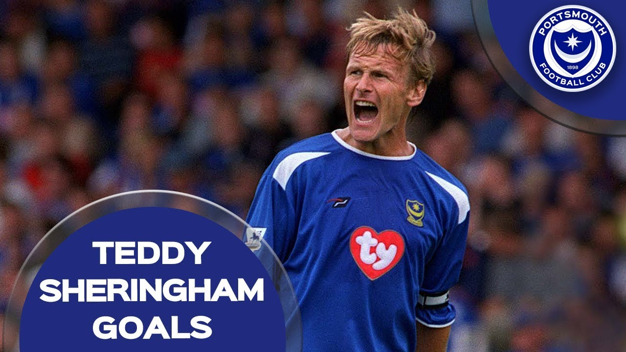 All 10 Teddy Sheringham goals for Pompey