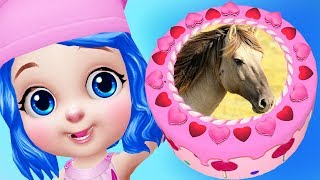 Fun Horse Pony Cake Maker - Horse Birthday Cake Cooking Yummy Food Kids Apps