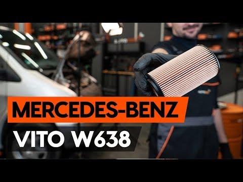Как заменить моторное масло и масляный фильтр на MERCEDES-BENZ VITO 1 (W638) [ВИДЕОУРОК AUTODOC]