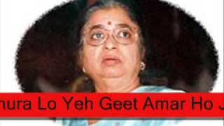 Apne Suron Mein - Manna Dey & Usha Mangeshkar - Dil Ki Rahen 1973