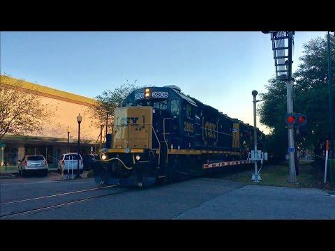 Plant City RailFest 2017; Amtrak, CSX Freight Trains, Band, Fun For Kids!
