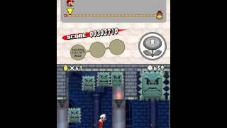20121206 Matrako Super Mario Bros W1 Castle Thwomp bridge updated