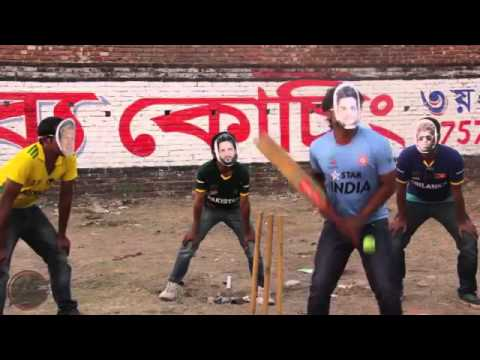 ICC T20 WORLD CUP 2014 Theme  Performed by   funny flash Mob