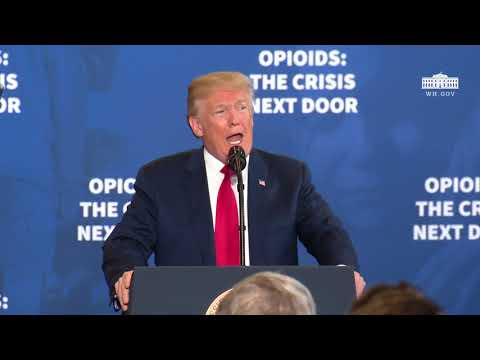 President Trump Delivers Remarks on Combating the Opioid Crisis