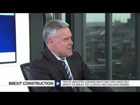 Is Brexit already hurting the construction industry?