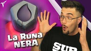 FINALMENTE LA RUNA D'ELISIR NERO !! Clash of clans
