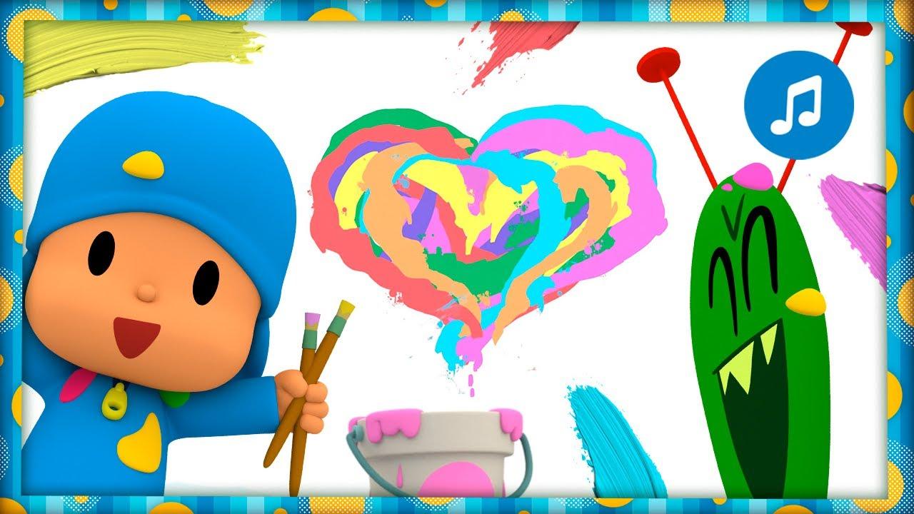 💙 Color Amor [Aprende los colores] - Caricaturas, Dibujos Animados y Canciones Infantiles para niños