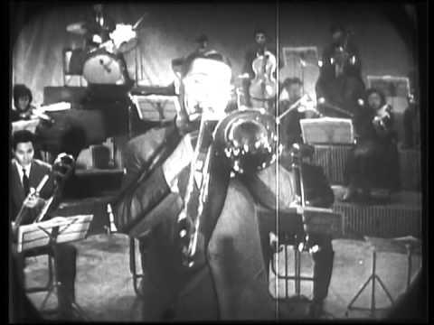 JACK TEAGARDEN, 1958 Kinescope. Tokyo, Japan.