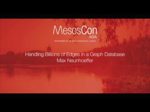 Handling Billions of Edges in a Graph Database