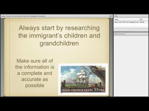 Proven Ways to Find Your Immigrant Ancestors - James Tanner