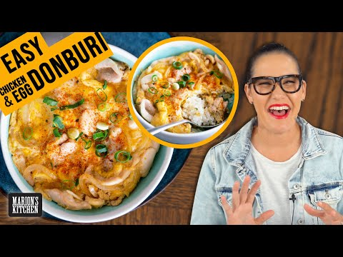 How To Make Japanese Donburi When You Don't Have All The Ingredients | Marion's Kitchen