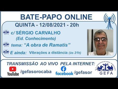 Assista: Bate-papo online c/ SÉRGIO CARVALHO (12/08/2021)