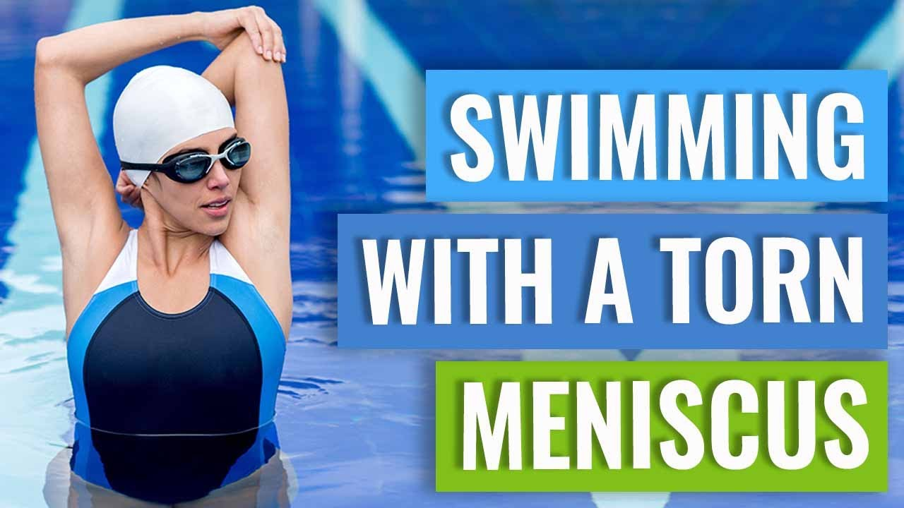 Meniscus Tears - Swimming Tips - YouTube