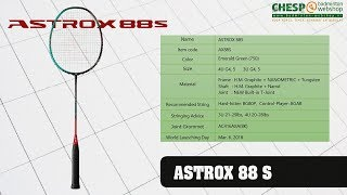 [ENG] Racketreview ASTROX 88D and 88S