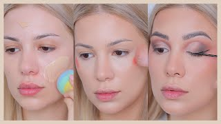 RELAXING GRWM makeup & hair transformation at home