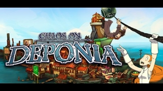 Chaos On Deponia Gameplay Walkthrough Point & Click Adventure NO COMMENTARY
