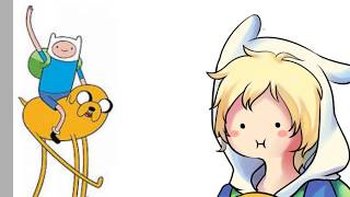 【Speedpaint 】Adventure Time (Finn and Jake)