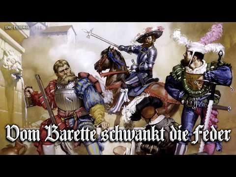 Vom Barette schwankt die Feder ⚔ [Landsknecht song][+English translation]