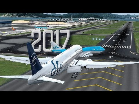 New Flight Simulator 2017 | Almost Crashed With Another Plane [P3D 3.4 - Ultra Realism]