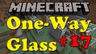 Minecraft Mod #17 One-Way Glass Mod Spotlight!